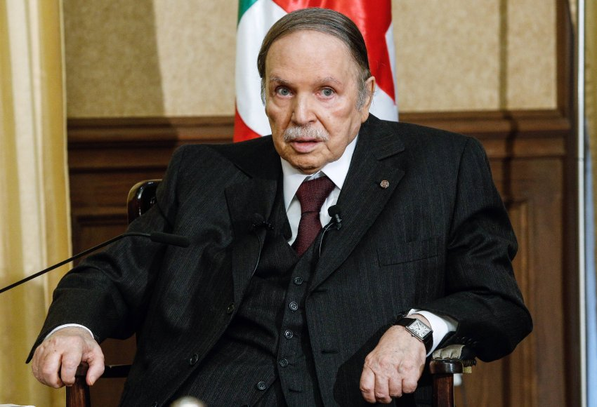 الرئيس الجزائري عبد العزيز بوتفليقة.