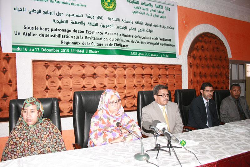 جانب من انطلاق فعاليات مشروع برنامج إحياء التراث القيمي الذي أطلقته الوزارة (أرشيف)
