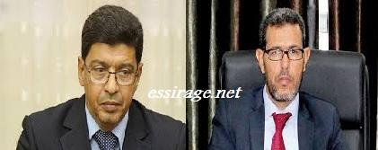 الحسن ولد محمد وسيدي محمد ولد محم