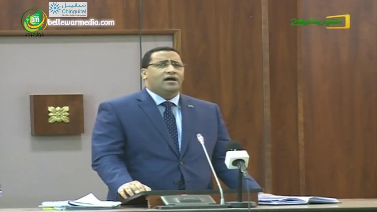 الوزير خلال نقاش سابق