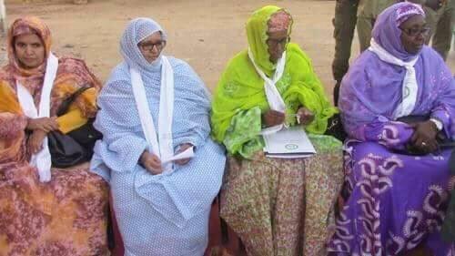 صورة لبعض أعضاء شبكة البرلمانيات الموريتانيات