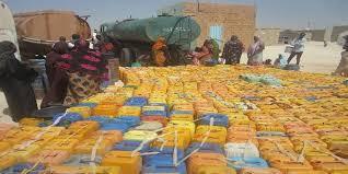 """صورة من العطش فى موريتانيا """" إرشيف """""""