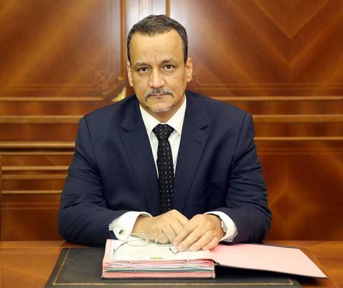 وزير الشؤون الخارجية والتعاون اسماعيل ولد الشيخ أحمد