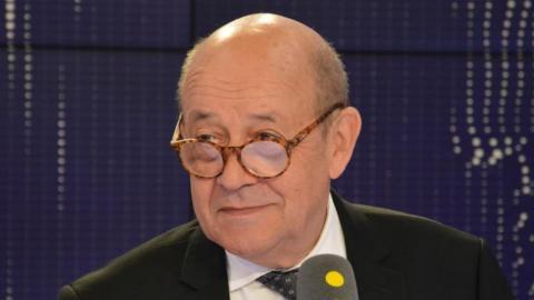 وزير الخارجية الفرنسي جان إيف لودريان.