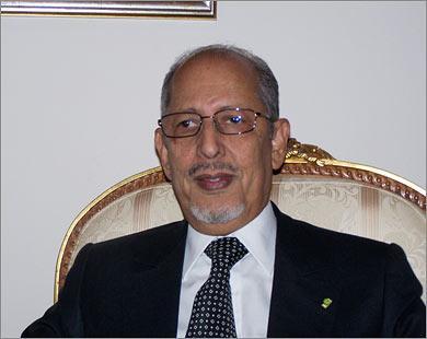 الرئيس السابق سيدي محمد ولد الشيخ عبد الله