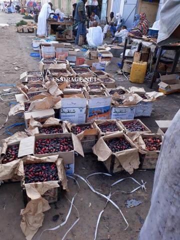 صورة من سوق التمور فى أطار