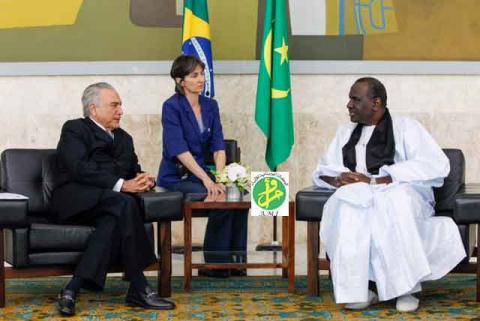 البرازيل تعتمد عبدولاي إدريسا سفيرا لموريتانيا