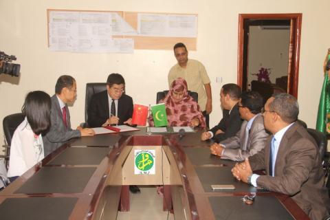 موريتانيا تتسلم رسميا مركزا للتقنيات البيطرية من الصين
