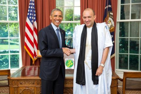 واشنطن تعتمد ولد داداه سفيرا لموريتانيا
