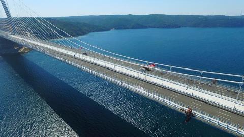 تركيا تحتفل غدًا بافتتاح أعرض جسر معلّق في العالم