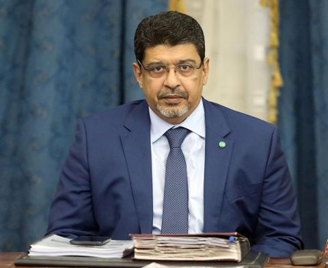 سيدي محمد ولد محم: الناطق الرسمي باسم الحكومة الموريتانية.