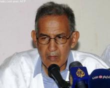 رئيس حزب تكتل القو ى الديمقراطية أحمد ولد داداه (أرشيف)