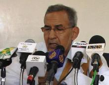 رئيس حزب تكتل القوى الديمقراطية أحمد ولد داداه (أرشيف)