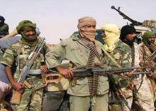 صورة لمقاتلين من حركة تحرير أزواد (أرشيف)
