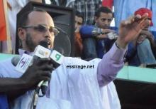 الأمين العام للكونفيدرالية الوطنية للشغيلة الموريتانية محمد أحمد ولد السالك (السراج)