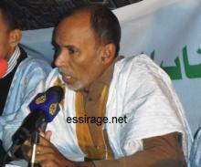 الأديب والكاتب الموريتاني محمدو ولد احظانا (أرشيف - السراج)