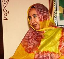 الأمينة العامة لوزارة الثقافة والصناعة التقليدية بموريتانيا ميمي بنت الذهبي (أرشيف - السراج)