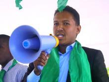 الأمين العام للاتحاد الوطني لطلبة موريتانيا الحسن ولد بدو
