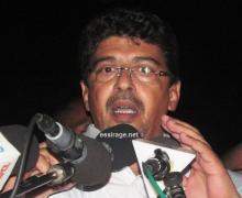 رئيس حزب الاتحاد من أجل الجمهورية سيدي محمد ولد محم (أرشيف - السراج)