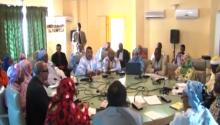 جانب من اجتماعات الائتلاف بإحدى قاعات الغرفة الثانية للبرلمان الموريتاني (السراج)
