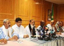 جانب من مؤتمر للأغلبية الحاكمة في موريتانيا (أرشيف)