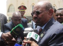 رئيس السودان عمر حسن البشير (تصوير - السراج)
