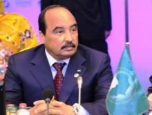 الرئيس الموريتاني محمد ولد عبد العزيز في قمة إفريقية (أرشيف)