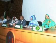 جانب من الورشة المنظمة للتفكير في شعبة الخضروات في موريتانيا، منظمة من طرف وزارتي الزراعة والتجارة والصناعة التقليدية والسياحة (وم أ)