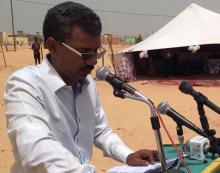 رئيسُ المنتدى الموريتاني للصم محمد حبيب الله ولد محمد موسى (السراج)