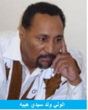 الولي ولد سيدي هيبه: كاتب صحفي.