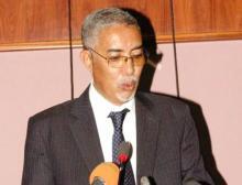 الوزير الأول الموريتاني يحيى ولد حدمين (أرشيف - السراج)