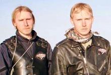 الشقيقان التوأم الروسيان سيرغي، وألكسندر سينيلنيك (أرشيف)