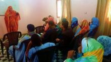 جانب من المشاركين في الدورة التكوينية التي نظمتها جمعية الإرادة (السراج)