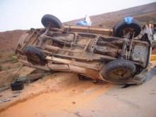صورة تخدم الموضوع من أحد الحوادث بين آمرج والنعمة (أرشيف)