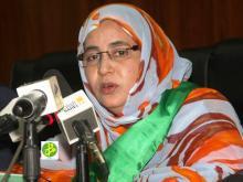 رئيسة المجموعة الحضرية أماتي بنت حمادي (أرشيف - وم أ)