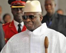 الرئيس الغامبي يحيى جامي (أرشيف)