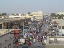 جانب من سوق العاصمة الموريتانية نواكشوط القديم (السراج)