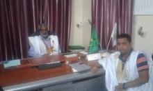 سيلفي مع الرئيس صالح ولد حنن