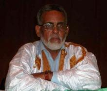 رئيس اتحاد الكتاب والأدباء الموريتانيين عبد الله السالم ولد المعلى (أرشيف)