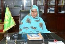 وزيرة الخارجية الموريتانية فاطمة فال الصوينع (أرشيف)