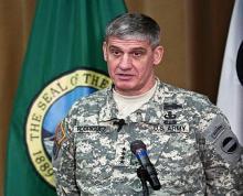 قائد القوات الأمريكية في إفريقيا (أفريكوم) ديفد رودريغيز