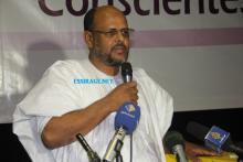 """رئيس حزب التجمع الوطني للإصلاح والتنمية """"تواصل"""" محمد جميل ولد منصور (السراج)"""