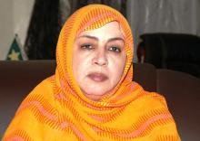 مفوضة لجنة حقوق الإنسان بموريتانيا عائشة بنت محيحم (وم أ)