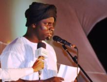 رئيس مركز ترانيم للفنون الشعبية - المنظم لمهرجان ليالي المديح - محمد عالي ولد بلال (السراج)