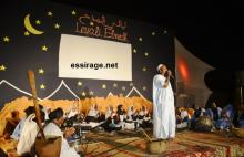جانب من مصة مهرجان ليالي المدح في نسخته الثانية والمقام بالعاصمة نواكشوط (السراج)