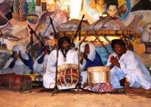 جانب من قعاليات مهرجان ليالي المدح النسخة الأولى المنظم في نواكشوط 17 رمضان (السراج)