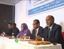 جانب من ورشة العمل التي تهدف إلى تعزيز الدور التجاري لموريتانيا (وم أ)