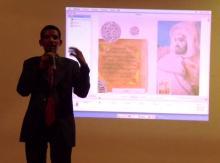 رئيس جمعية الشباب للتنمية الثقافية والتنمية عبد اللطيف سيد محمد (السراج)