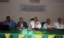 جانب من المؤتمر التأسيسي لشبكة المتاحف الخاصة بموريتانيا (السراج)