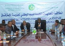 جانب من حفل تخليد اليوم الوطني في موريتانيا لمحاربة الاسترقاق (وم أ)